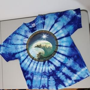 Delta vibrant tie-dye graphic XL t-shirt
